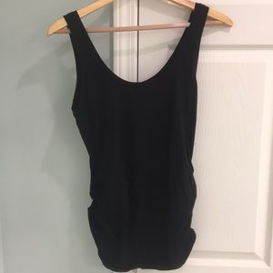 Old Navy Black Maternity Tank Top - Preowned